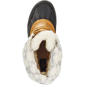 Sorel Whistler Mid Boots Women Camel Brown/Black